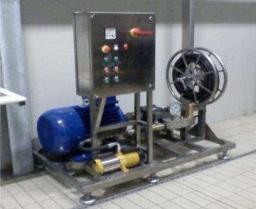 Unità per lavaggi e pulizia con sistemi di alta pressione